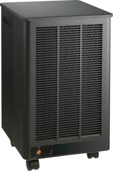 Эта тумбочка, похожая на компьютерный корпус, тоже является электростатическим очистителем воздуха The Design Air
