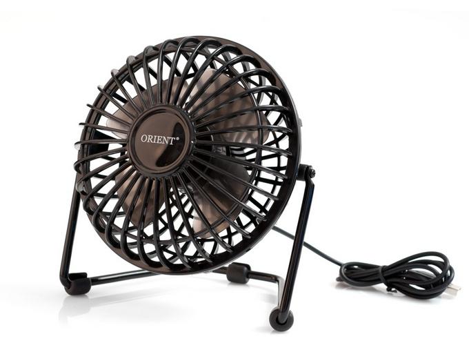 Настольный вентилятор Orient уже не на подставке, а на раме