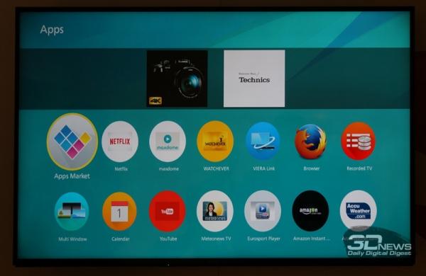 Firefox OS в телевизорах Panasonic