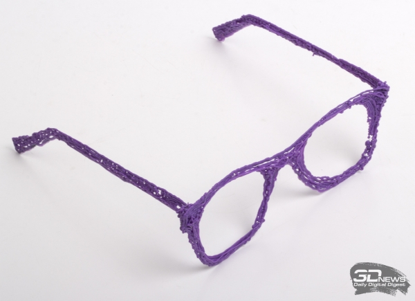 «Хипстерские» очки специально для редакции
