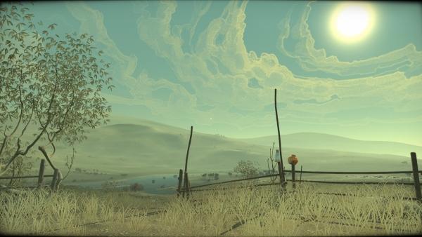 Небо в Cradle какое-то… не такое. Как и все, что окружает героя