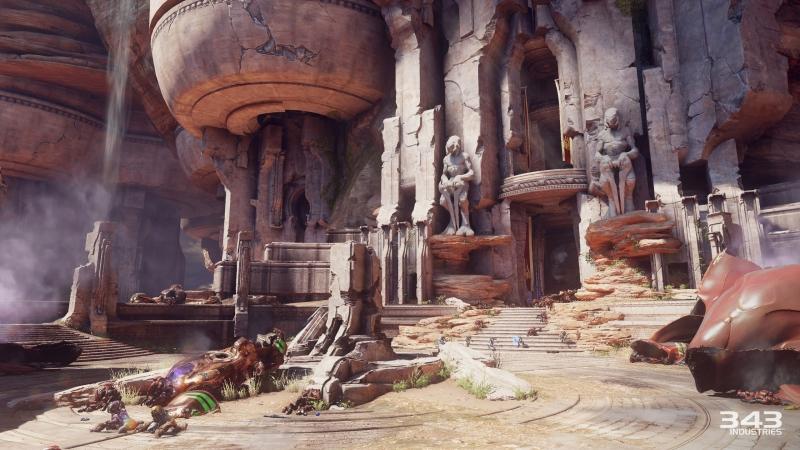 Руины храма Сангхейли. Красиво