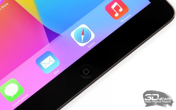 Кнопка «Домой» в iPad Air осталась кнопкой – дактилоскопического датчика в планшете нет