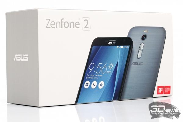ASUS Zenfone 2 – заводская коробка