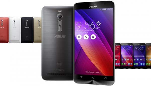 ASUS Zenfone 2 – доступные цветовые решения
