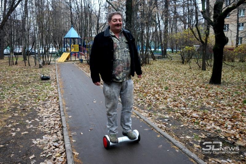 Дмитрий Быков на Solowheel Hovertrax