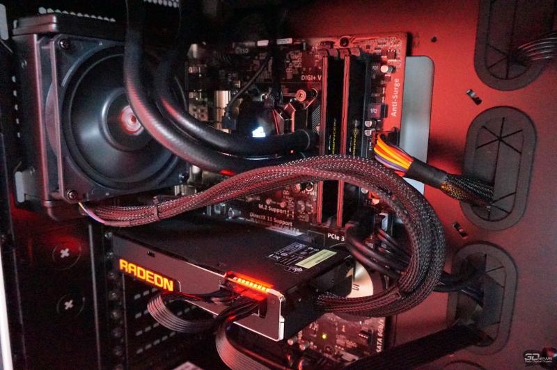 Radeon R9 Fury X за работой