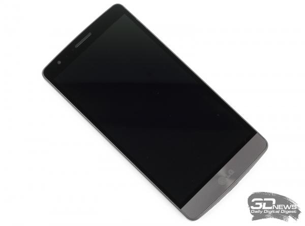 LG G3s LTE – лицевая панель