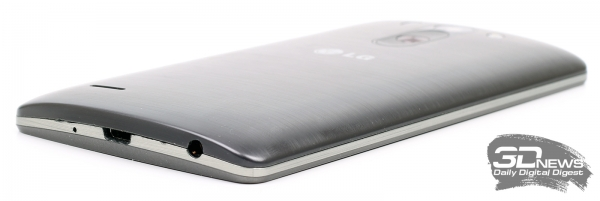 LG G3s LTE – боковые торцы