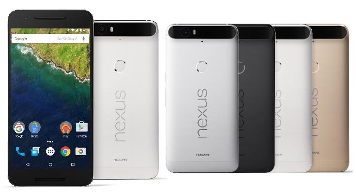 Huawei/Google Nexus 6P – цветовые решения (официальное фото)