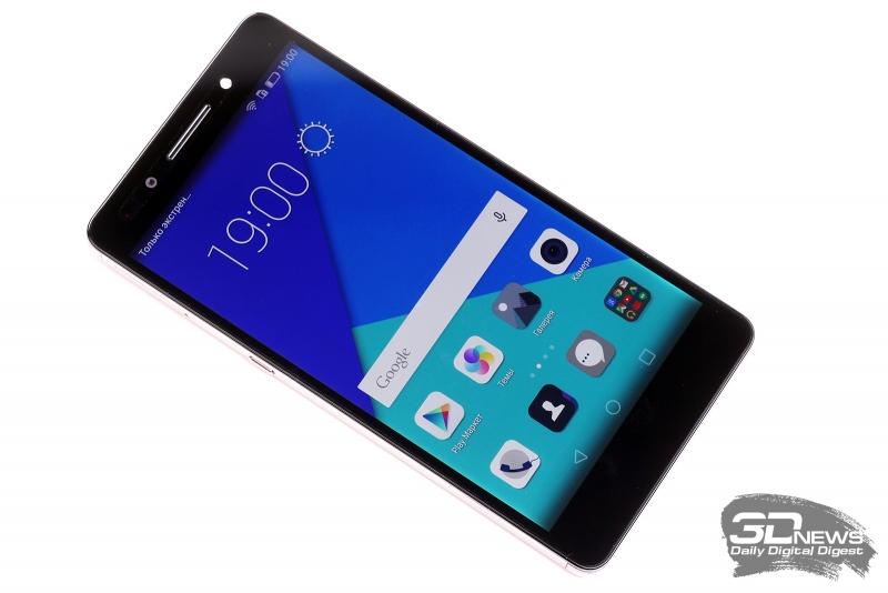 Huawei Honor 7 – лицевая панель