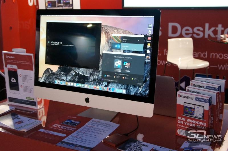 Живая демонстрация работы Parallels Desktop 11 на IFA 2015