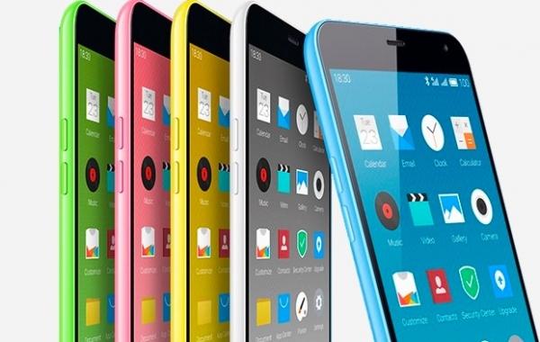 В Meizu настолько увлеклись заимствованием дизайна у Apple, что даже переняли «фишку» с яркими цветами корпуса; M1 Note поставляется в белом, зеленом, желтом, синем и красном цветах
