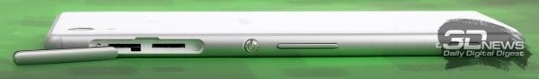 Sony Xperia M4 Aqua Dual – разъем для «симок»