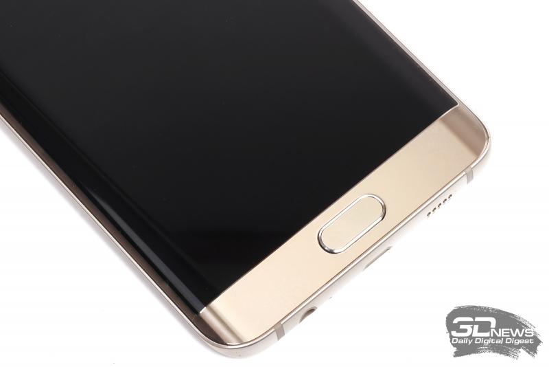 Samsung GALAXY S6 Edge+ – кнопки в нижней части лицевой панели