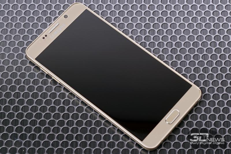 Samsung Galaxy Note5 – лицевая панель