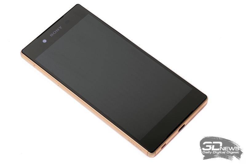 Sony Xperia Z5 – лицевая панель