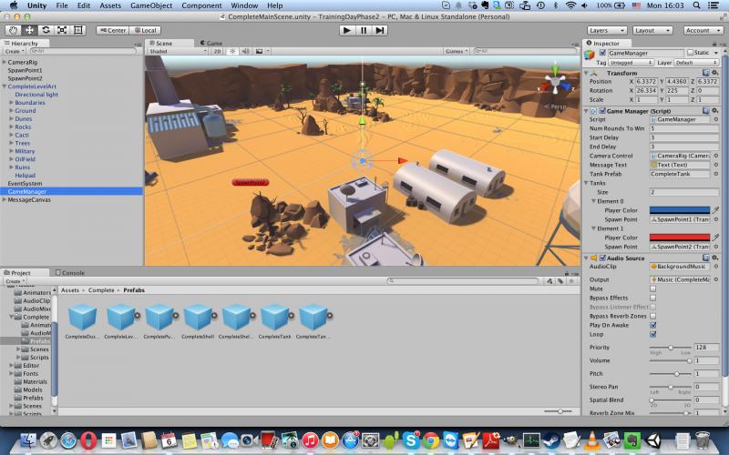Темный скин, который можно видеть на большинстве скриншотов, остается эксклюзивным для платной версии Unity Editor