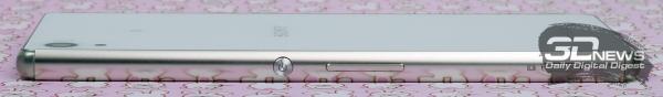 Sony Xperia Z3+ – правый торец