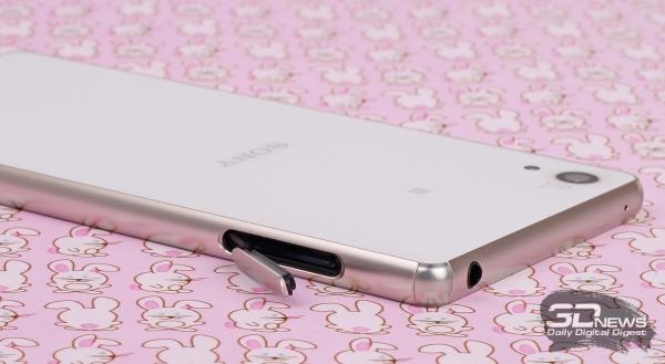 Sony Xperia Z3+ – верхний торец