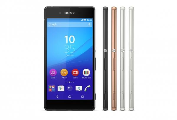 Sony Xperia Z3+ – официальное фото