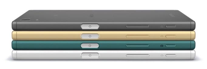 Sony Xperia Z5 – официальное фото