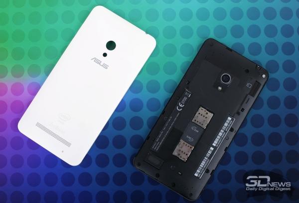 ASUS Zenfone 5 без задней крышки