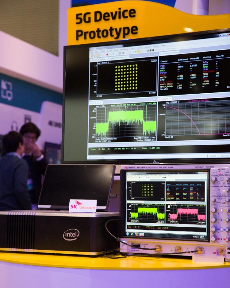 Демонстраций работы оборудования Intel для сетей 5G