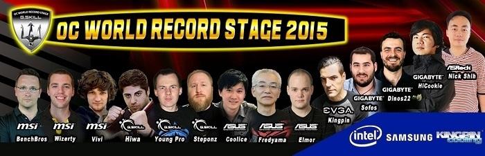 Команда чемпионов мира по оверклокингу