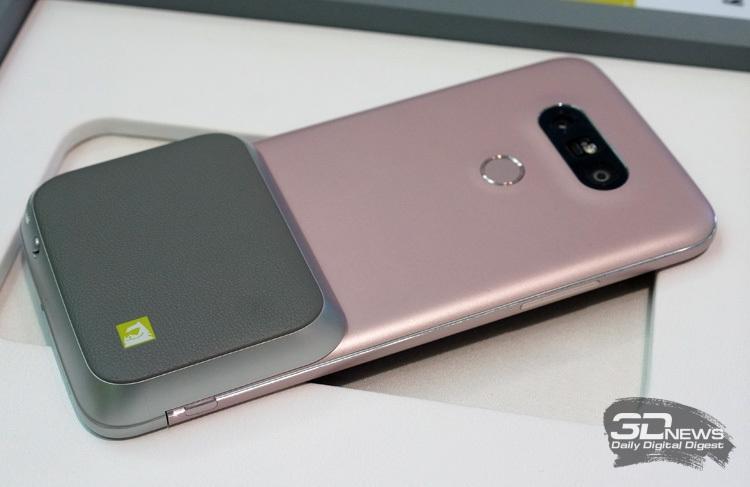 LG G5 с модулем CAM Plus