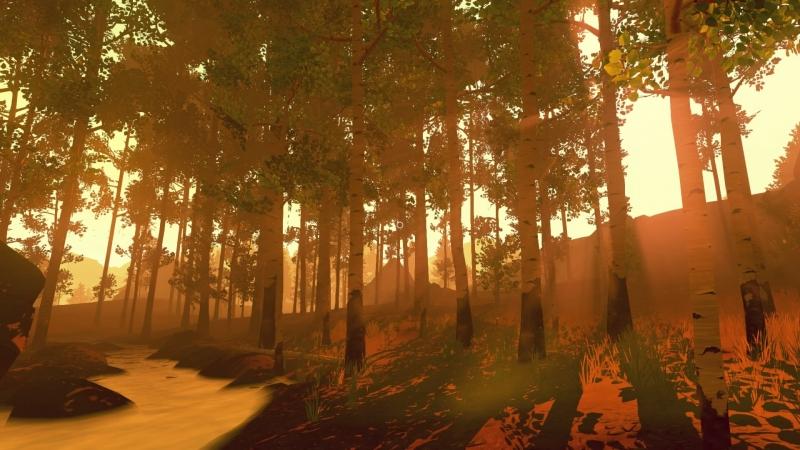 Порой лес выглядит необычайно красиво