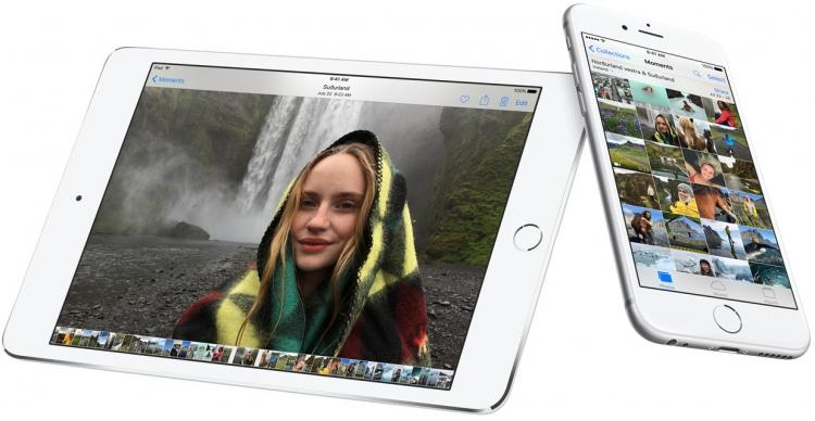 Мобильные устройства Apple