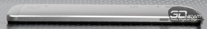 Lenovo VIBE P1 – левый торец
