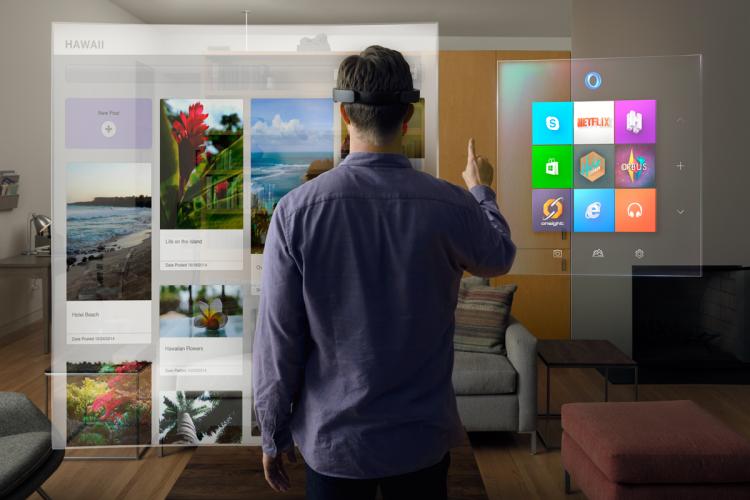Hololens: Дополненная реальность от Microsoft