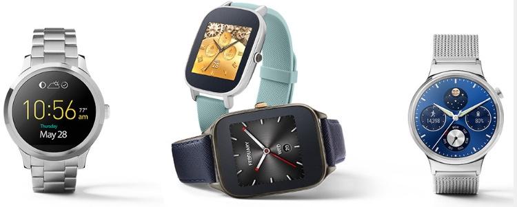 Часы на базе Google Android Wear