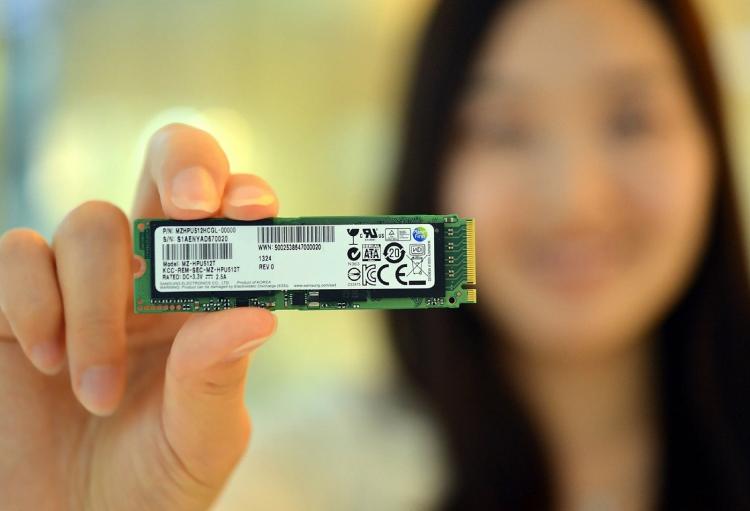 SSD производства Samsung в форм-факторе M.2