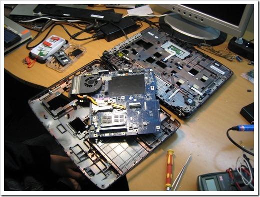 Демонтаж старой клавиатуры и использование плёнки