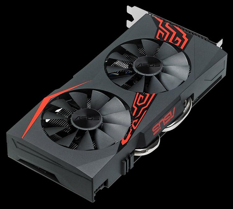 Видеокарта ASUS Expedition Radeon RX 570 4GB OC
