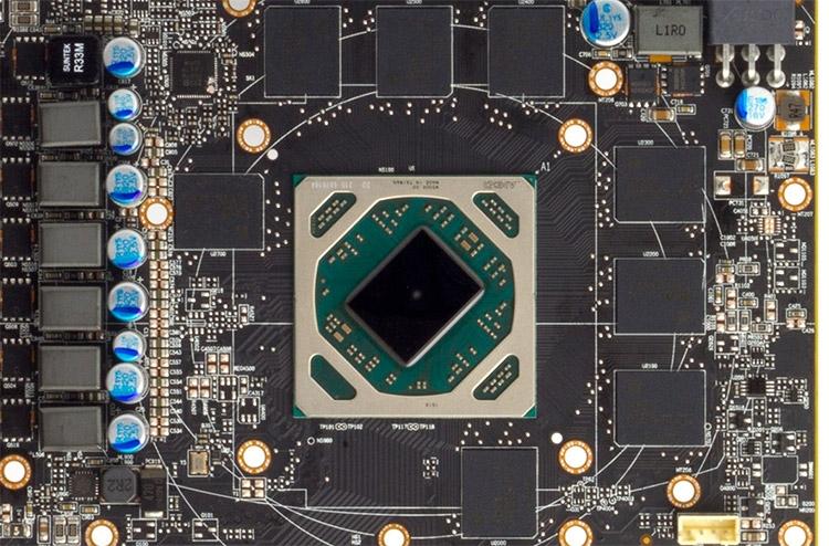 AMD Polaris 10 на PCB настольной видеокарты Radeon RX 480
