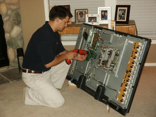 как чинить телевизор дома