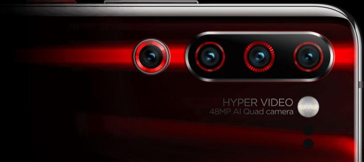 Представлен «100-Мп» Lenovo Z6 Pro с 4 тыльными камерами